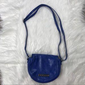 BCBGeneration Small Cobalt Blue Crossbody Bag